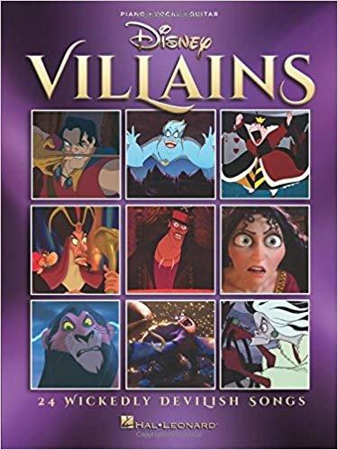 Disney Villains (Piano, Vocal, Guitar)