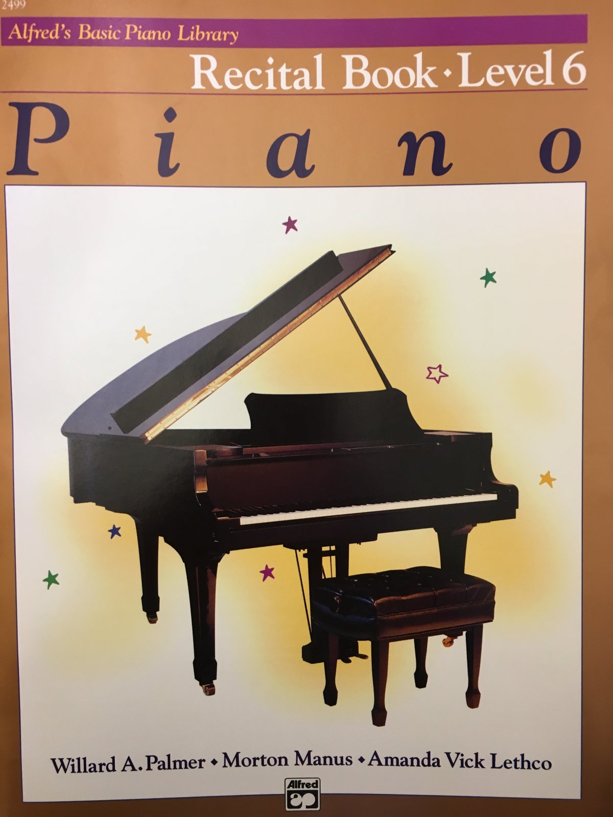 Alfred's Basic Piano Library Recital Book- Level 6