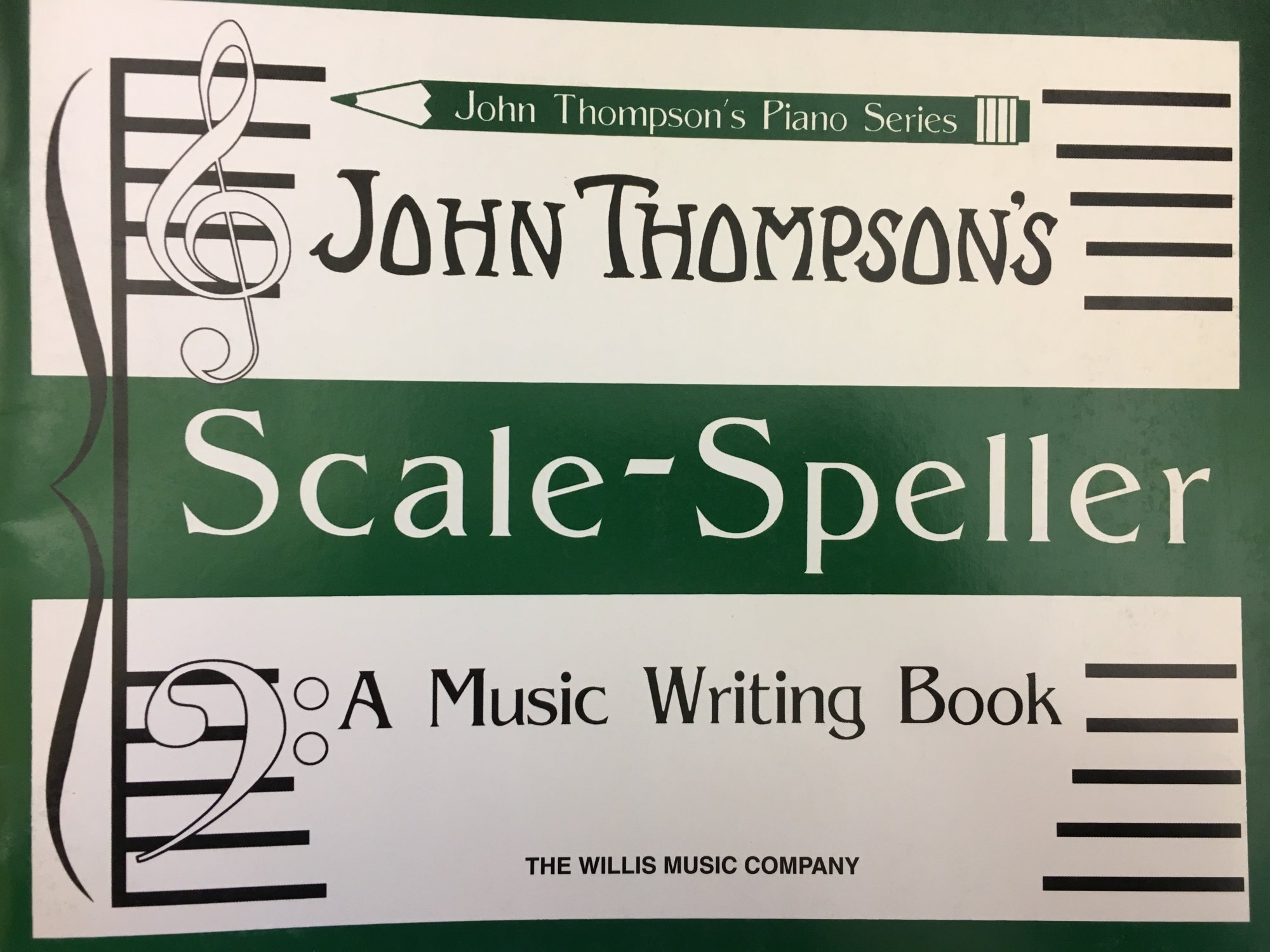 John Thompson's Piano Series Scale-Speller