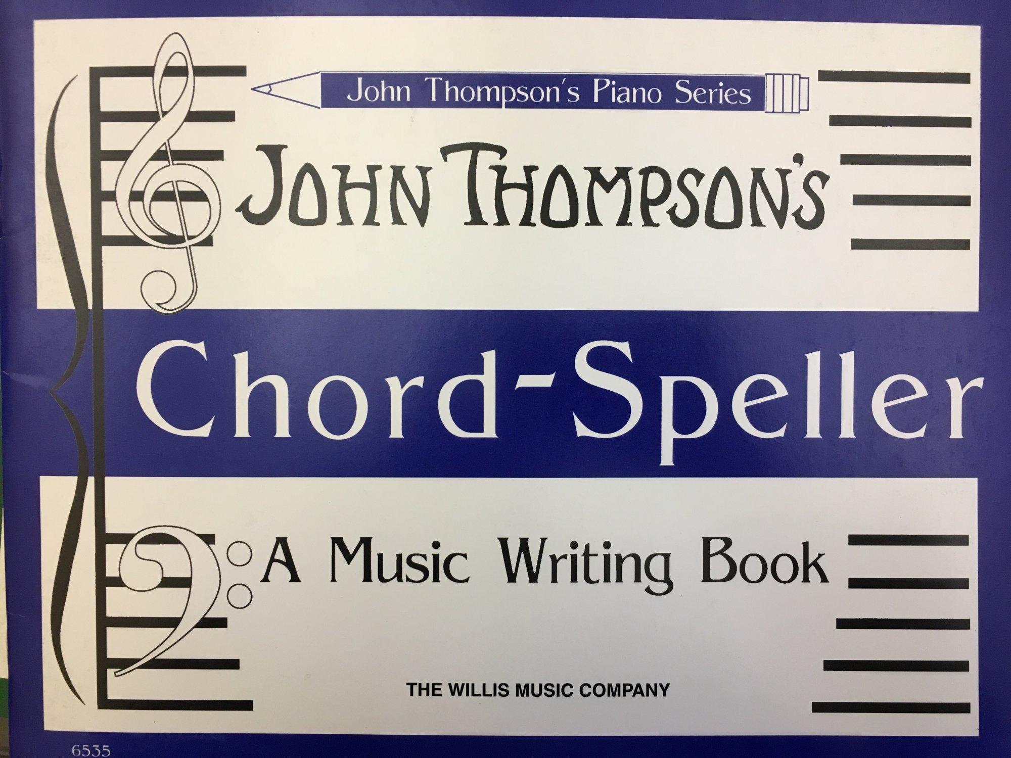John Thompson's Piano Series Chord-Speller