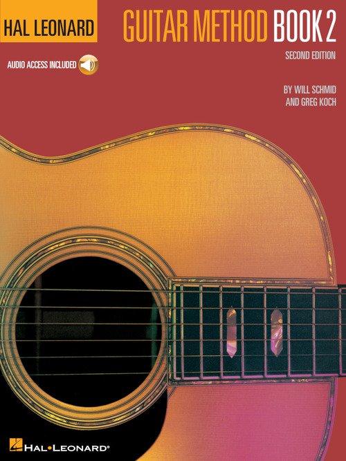 Hal Leonard Guitar Method Book 2 - Audio Access