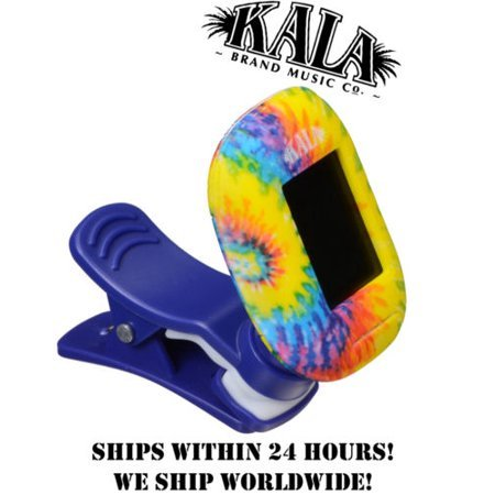 Kala Klipz Recharge Clip-on Tuner (TIE-DYE)