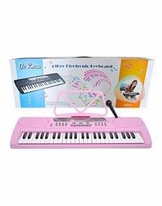 De Rosa KB49-PK 49 Key Kids Electronic Piano