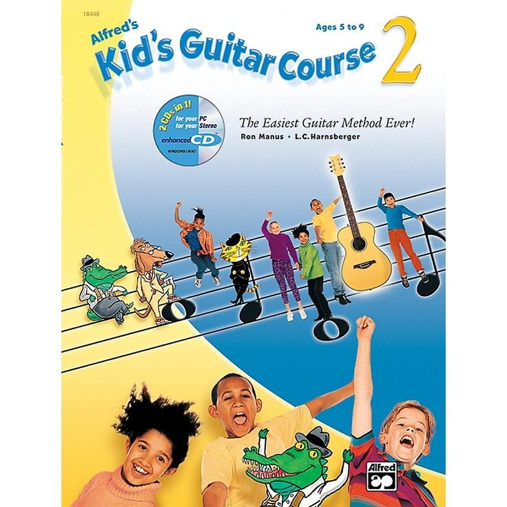 Alfred's Kid's Guitar Course 2 w/ CD