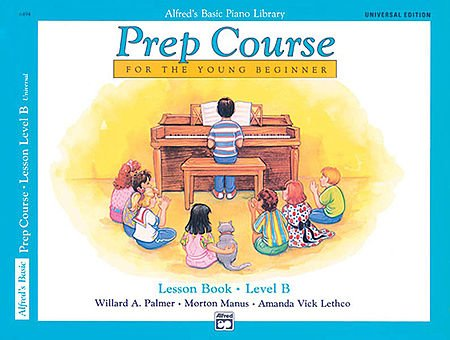 Alfred's Basic Piano Library Prep Course Lesson Book- Level B