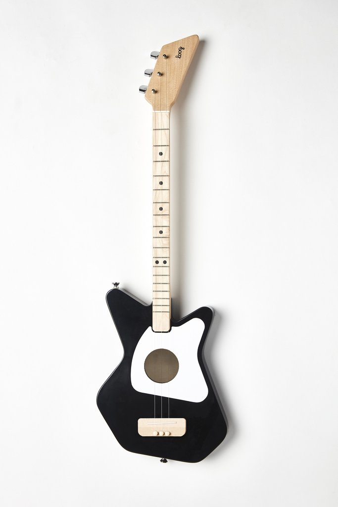 Loog Pro - Acoustic Guitar: Black
