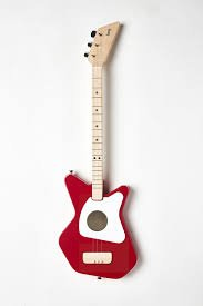 Loog Pro - Acoustic Guitar: Red