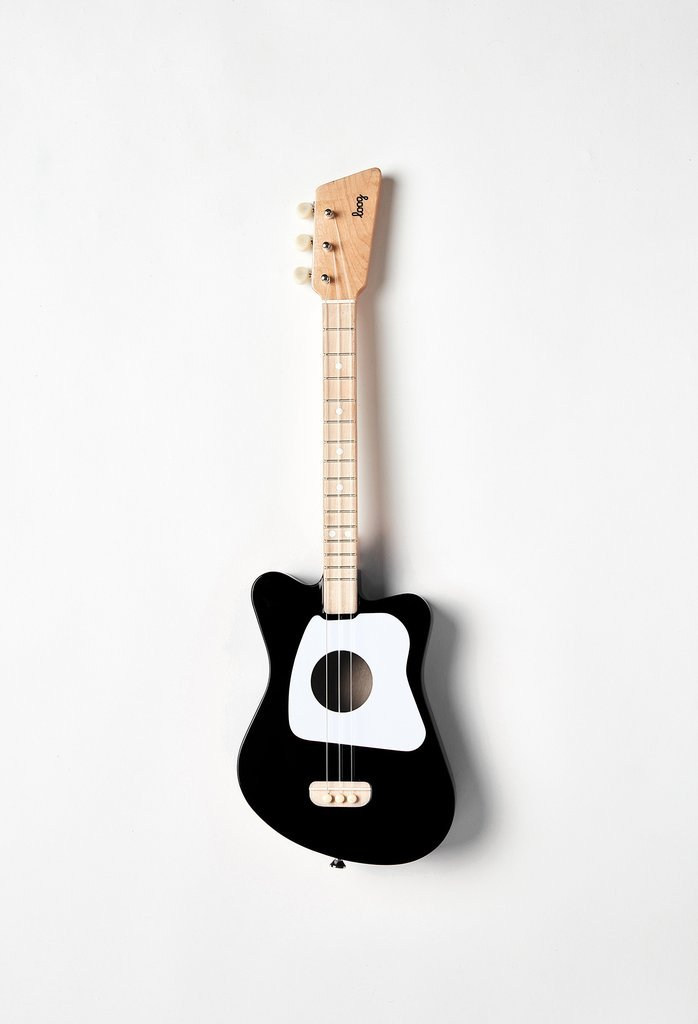 Loog Mini Acoustic Guitar: Black