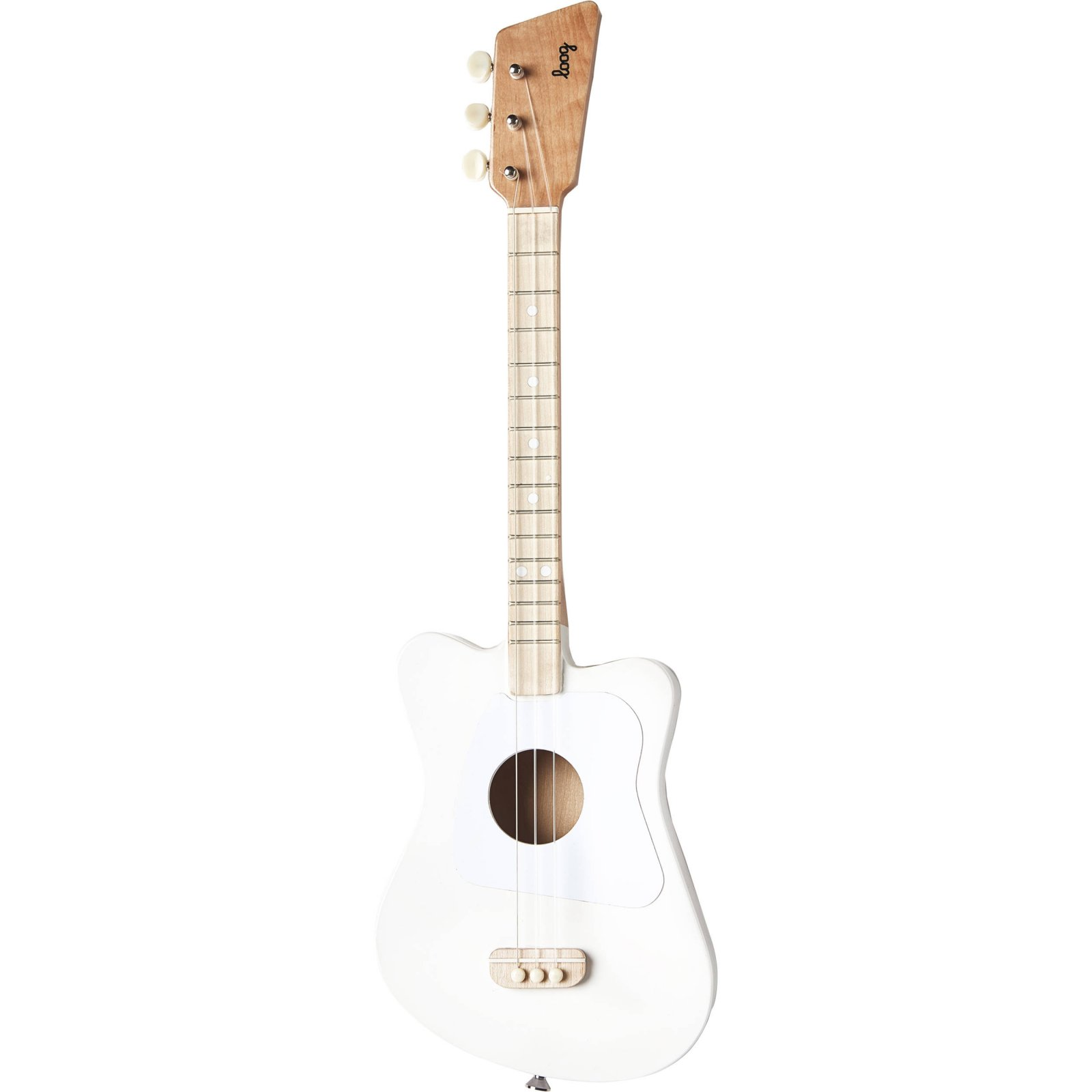 Loog Mini Acoustic Guitar: White