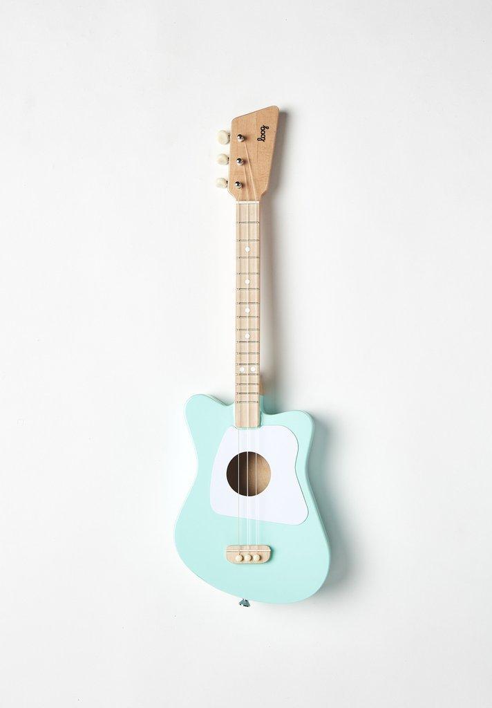 Loog Mini Acoustic Guitar: Green
