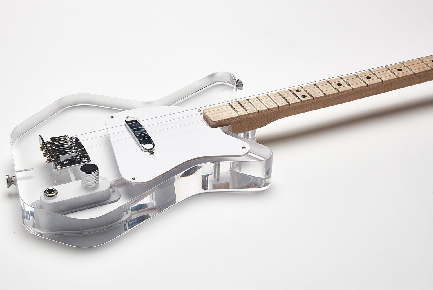 Loog Pro Electric Guitar -Lucite
