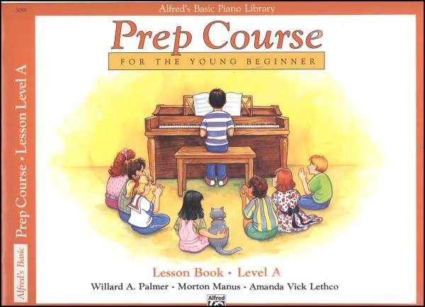 Alfred's Basic Piano Library Prep Course Lesson Book- Level A
