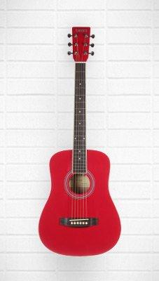 Tanara Acoustic Guitar 1/2 size          (Red)