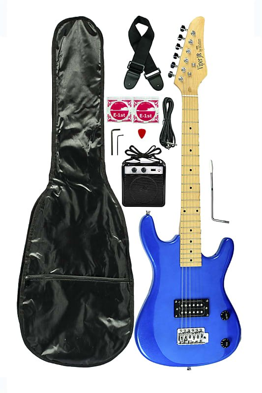 Viper Junior Electric Guitar Combo GE36CO-MBU Metallic Blue