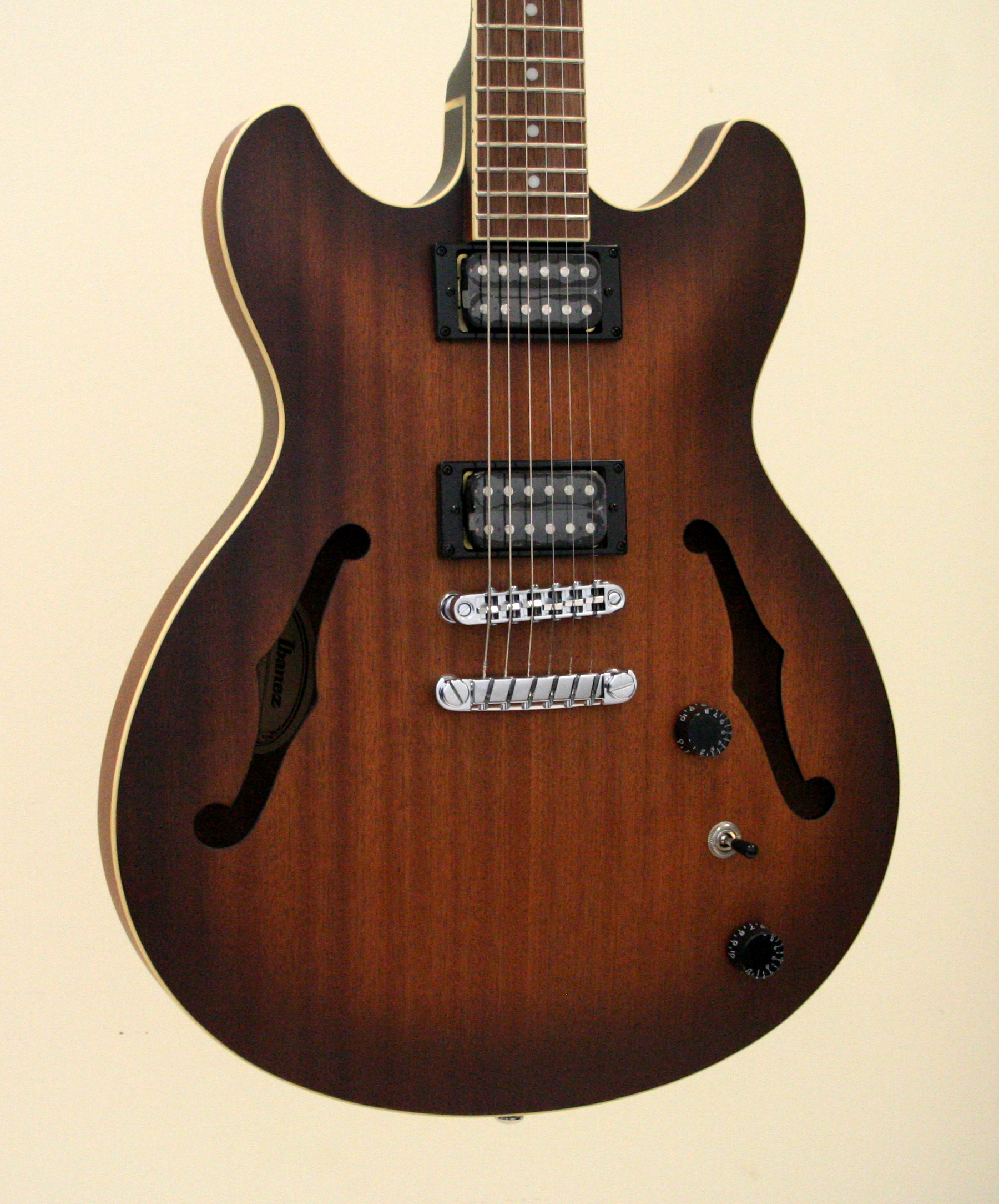 Ibanez AS53TF Semi-Hollow Body Electric Guitar Tobacco Flat