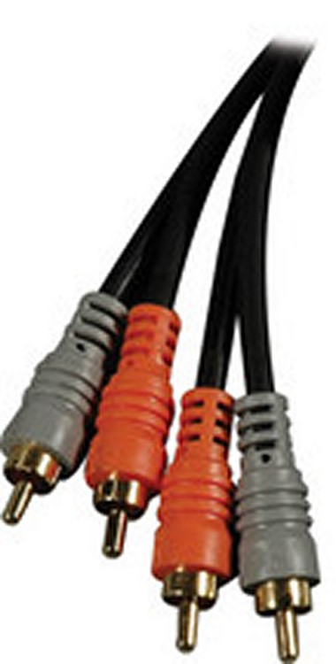 Hosa Cable CRA-202G Dual RCA Male to Same 2 meters