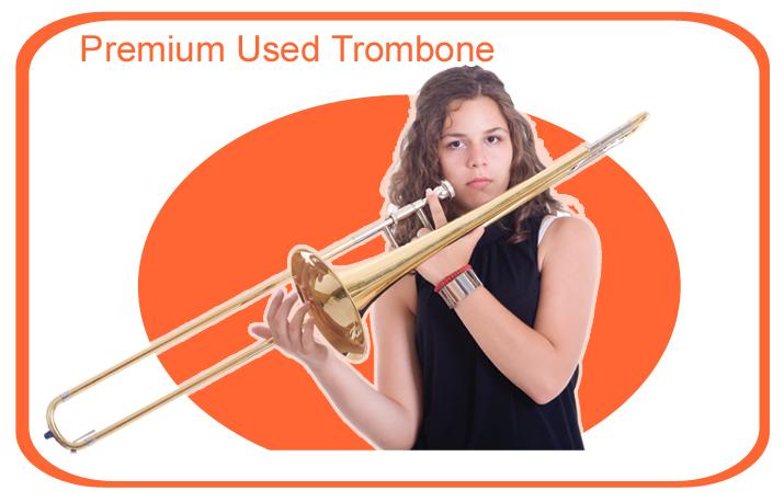 Premium Used Student Model Trombone
