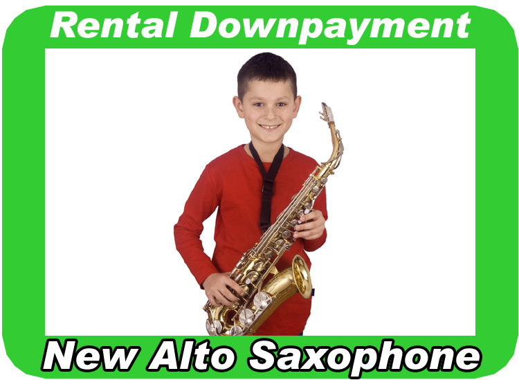 Rental Agreement Downpayment for New Alto Sax