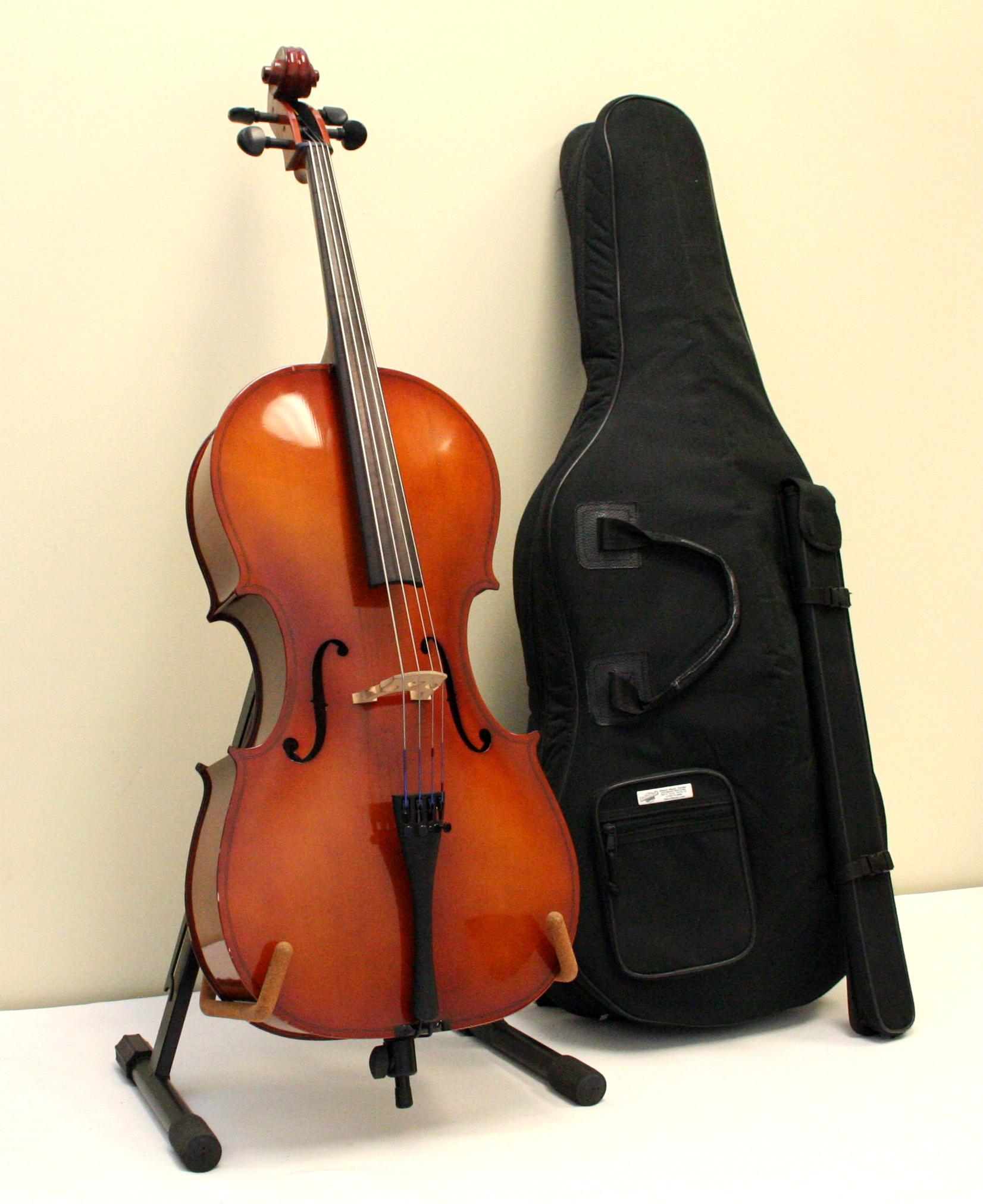Premium Used Cello 1/2 Size Amati - CE-12-105
