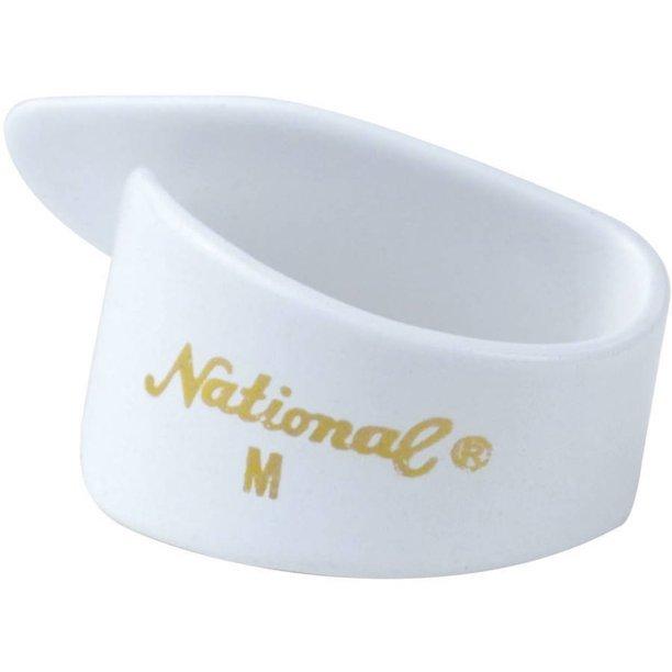 National NP7 Thumb Pick White Medium