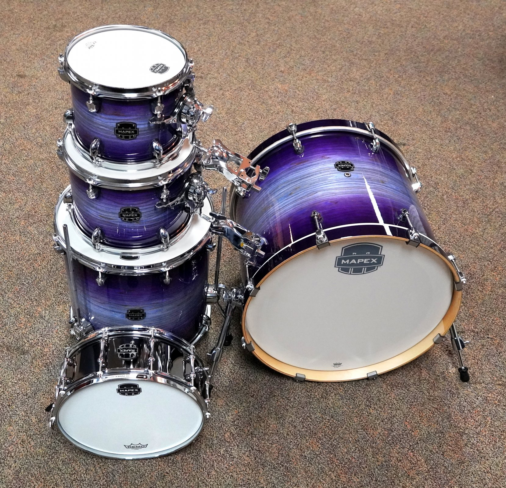 Mapex Armory Series Rock Shell 10/12/14/16/22 Night Sky Burst (Blemished)