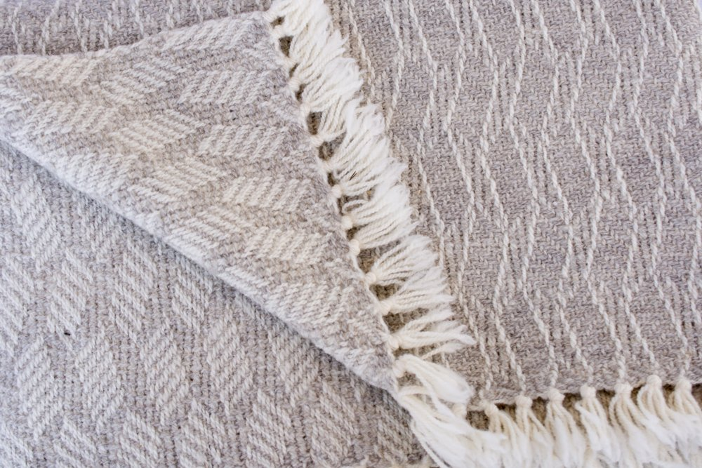 Handwoven Wool Throws - 1009