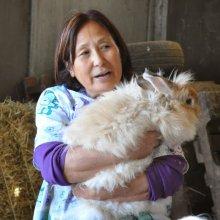 Julie Kuroki-Angora bunny
