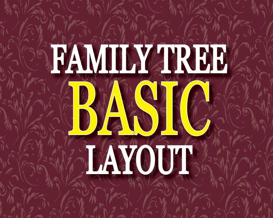 BASIC LAYOUT Photo Family Tree