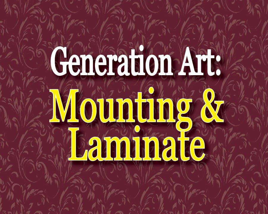 Generational Art - MOUNTING of Horizontal Art
