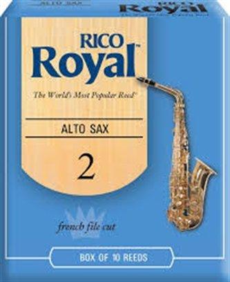 Royal Alto Sax 2 Reeds 10pk