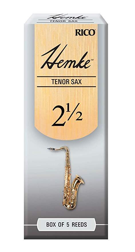 Hemke Tenor Sax 2.5 Reeds 5pk