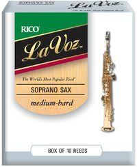 Rico La Voz Soprano Sax 10 Reeds - Medium Hard