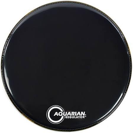 Aquarian 18 Black Regulator Drumhead