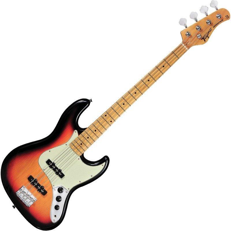 Sunburst Electric Jazz Bass TW73