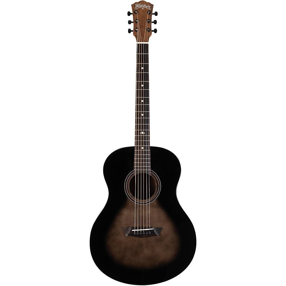Washburn Bella Tono Studio 9 Charcoal