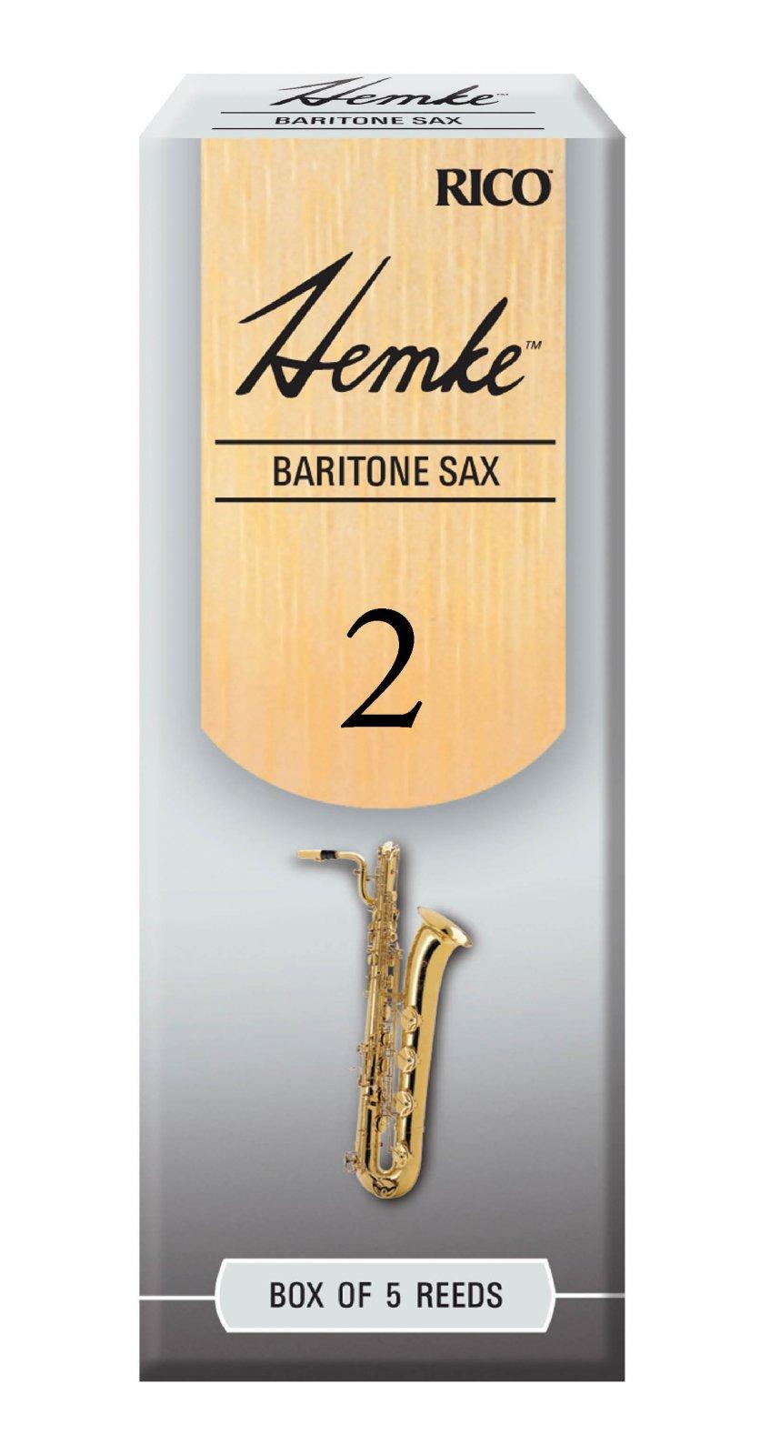 Hemke Baritone Saxophone 2 Reeds 5pk