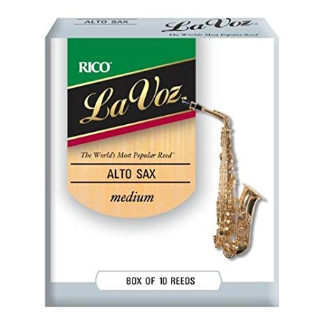 La Voz Alto Sax Medium Reeds 10pk