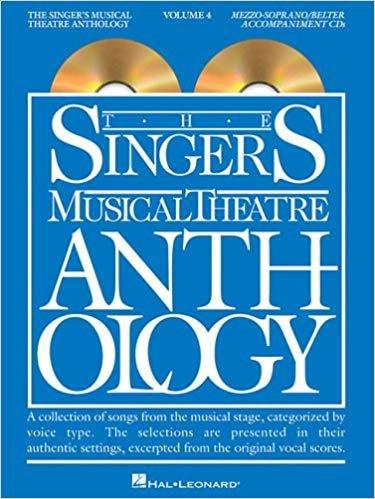 Singer's Musical Theatre Anthology Volume 4 w/ CDs