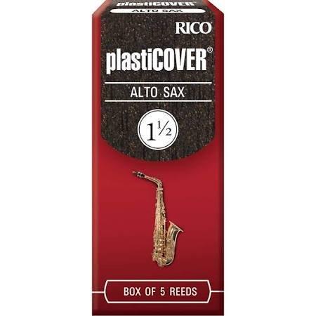 Rico PlastiCover Alto Sax 1.5 Reeds 5pk