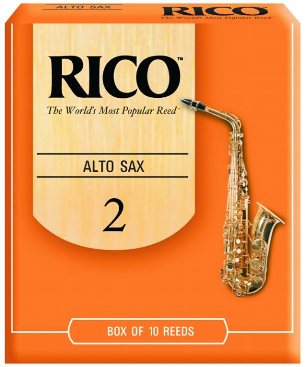 Rico Alto Saxophone 2 Unfiled Reeds 10pk