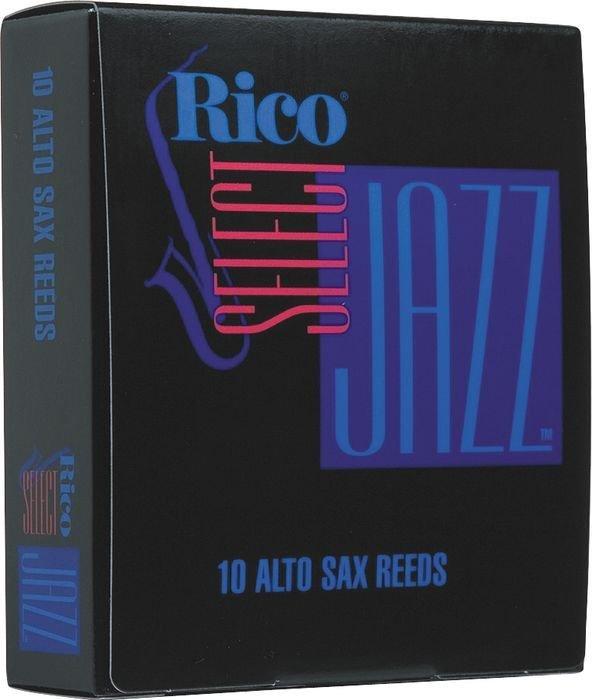Rico Select Jazz Alto Sax 10 Unfiled Reeds - Medium