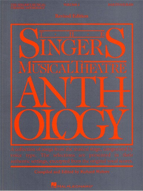 Singer's Musical Theatre Anthology Volume 1 Revised Edition