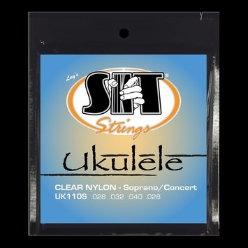 SIT Clear Nylon Soprano/Concert Ukulele Strings