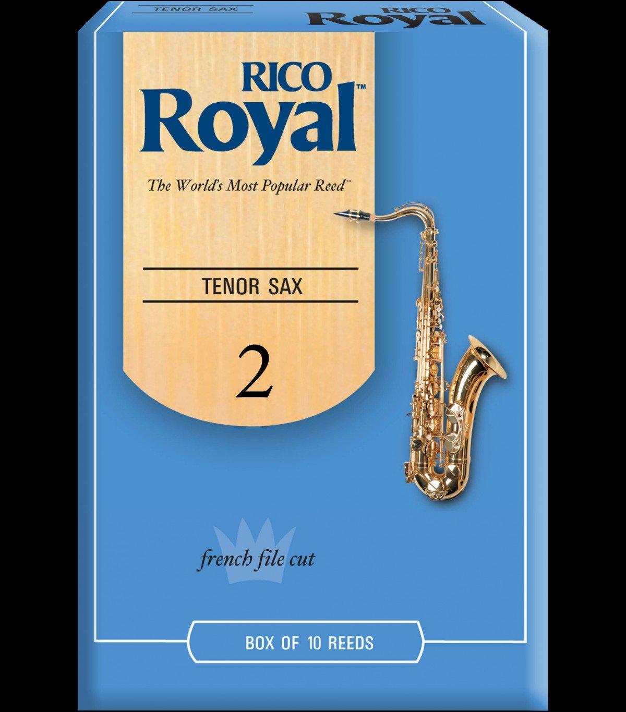 Rico Royal Tenor Sax 2 Reeds 10pk