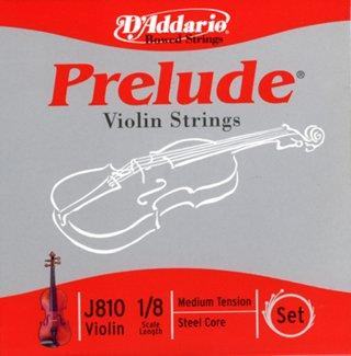 Prelude Violin Strings Set 1/8