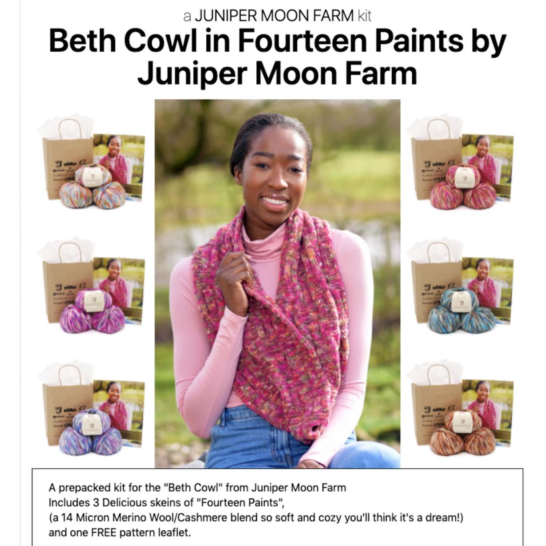 Beth Cowl Juniper Moon Drop Ship Kits