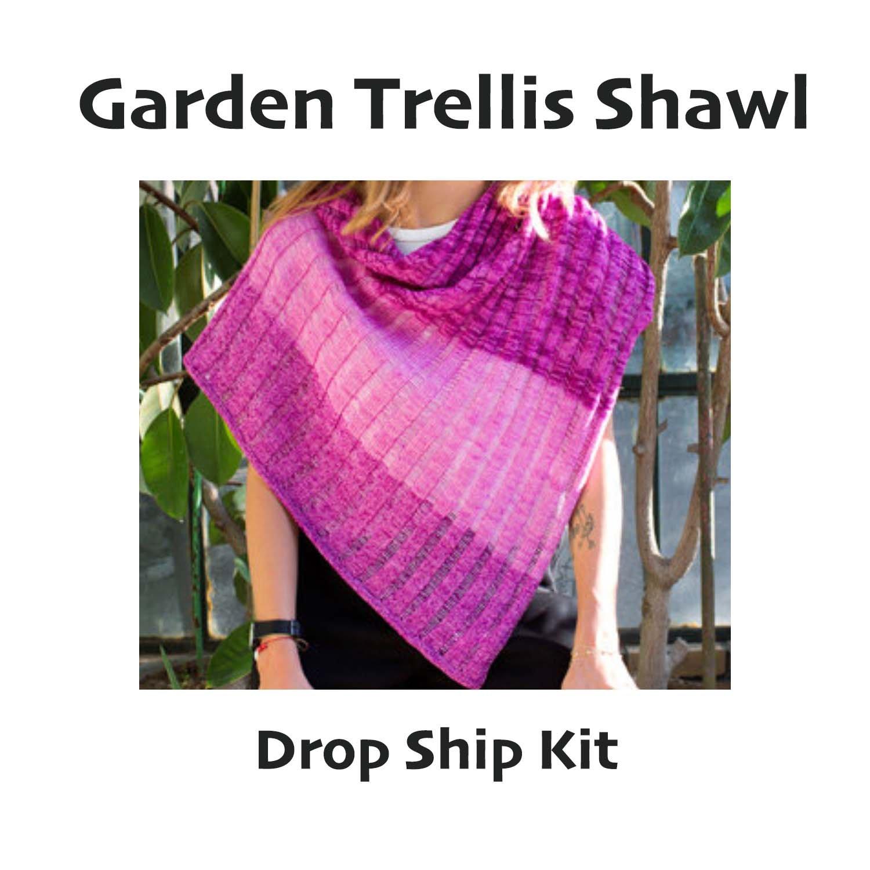 Garden Trellis Shawl - Urth Yarn Drop Ship