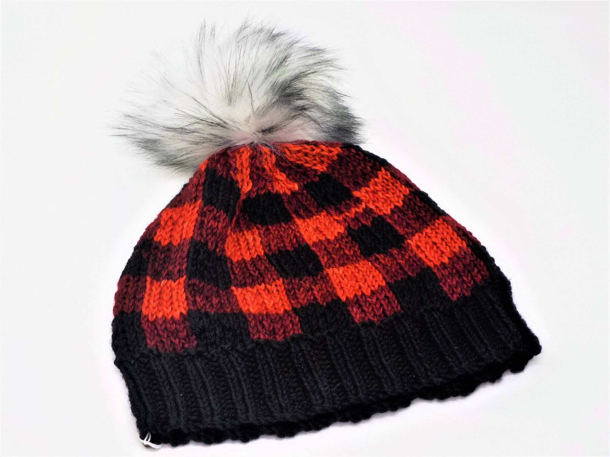 Buffalo Plaid Hat/trio kits - brew city