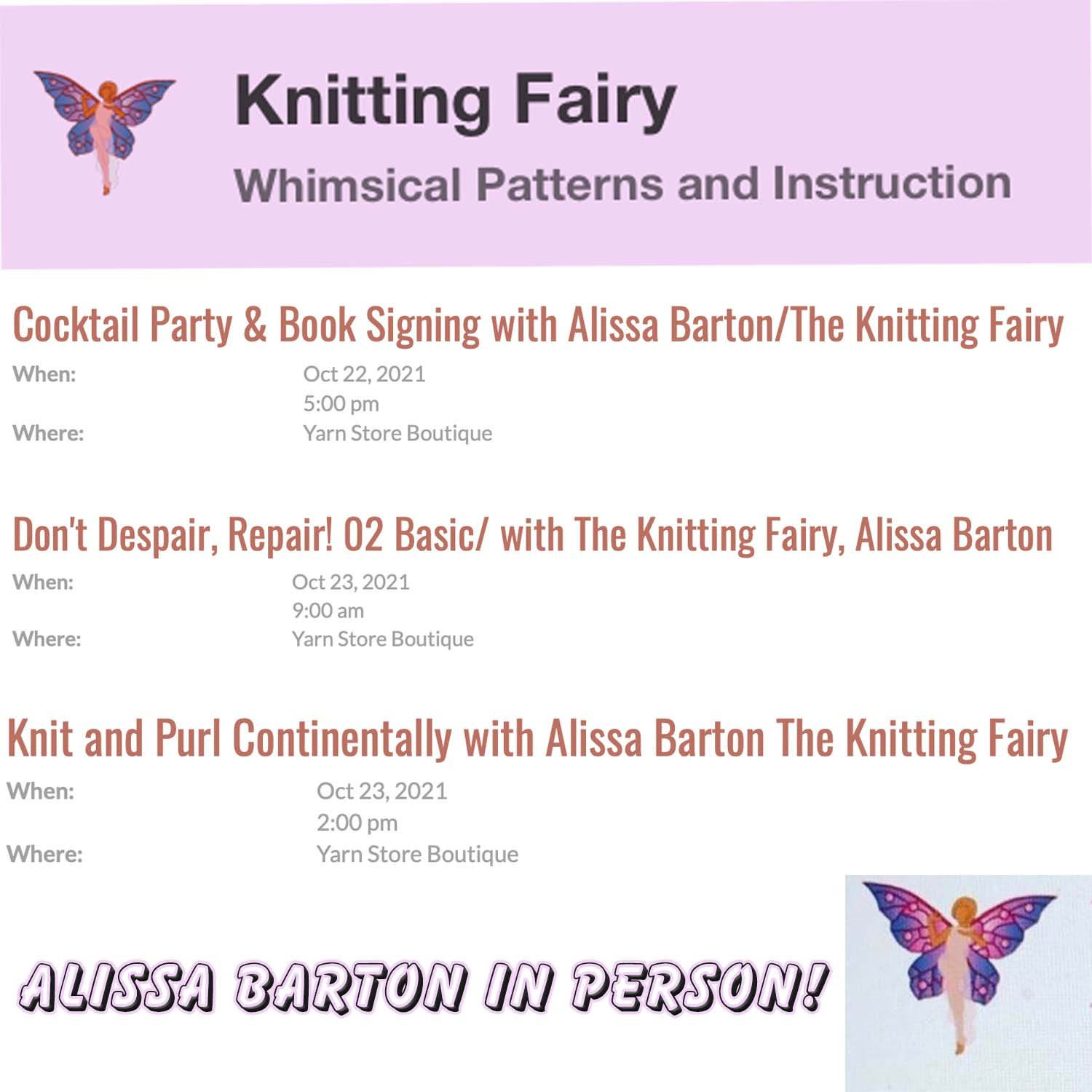 The Knitting Fairy Classes