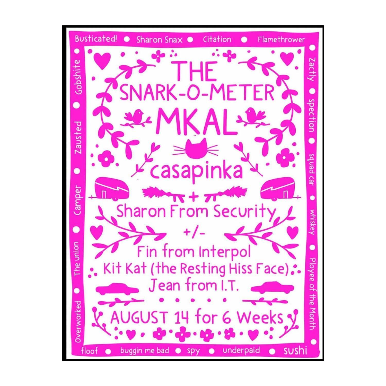 Casapinka Snark-O-Meter MKAL